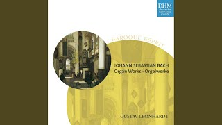 Prelude and Fugue in E minor, BWV 533