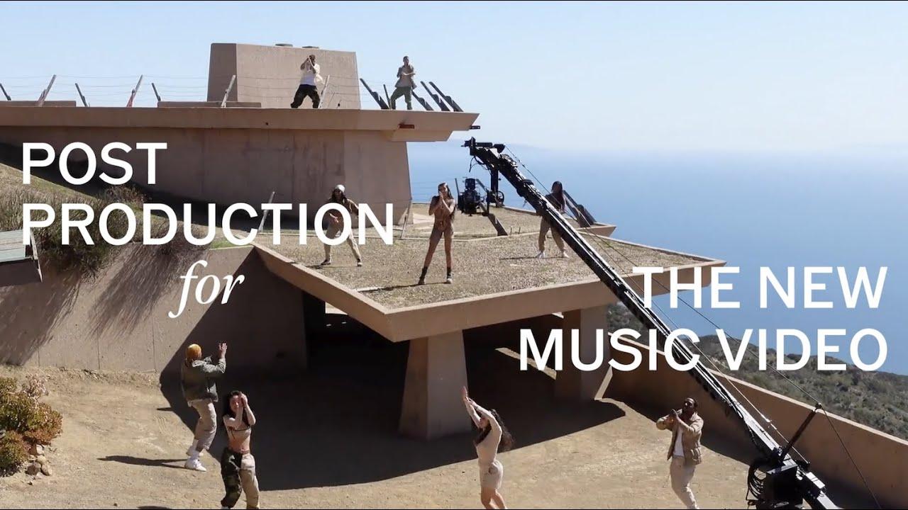 "Post Production Room for Tinashe's ""Pasadena"" Music Video"
