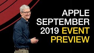 Apple 2019 September Event Preview