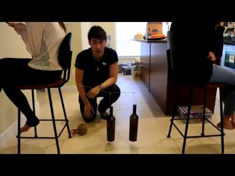 Simple physics experiment (The conservation of energy)