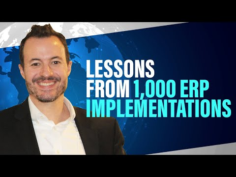 7 Lessons from 1,000+ ERP Software Implementations