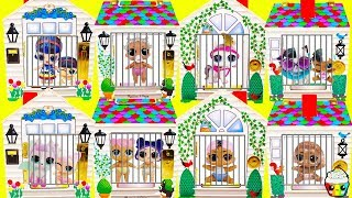LOL Surprise Doorbell House Big Sisters Find Lil Sister & Pets Smiler Prank Gone Wrong