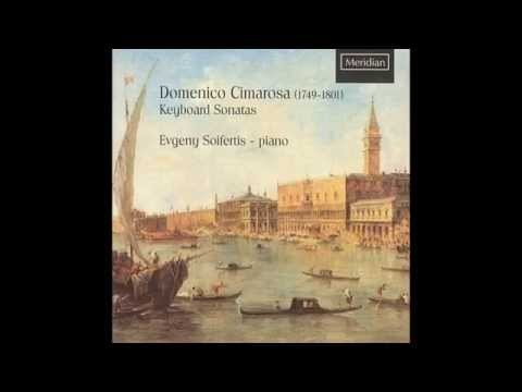 Domenico Cimarosa (1749-1801) Keyboard Sonatas by Evgeny Sifertis-piano