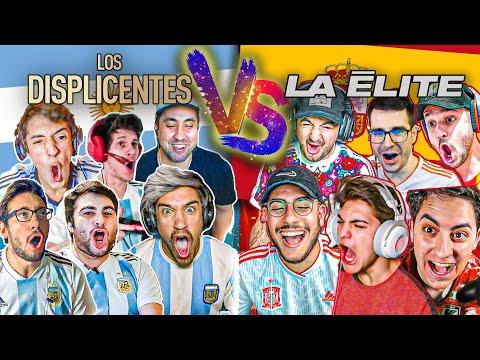 Los DISPLICENTES (Argentina) vs La ÉLITE (España) con APUESTA  FIFA 20