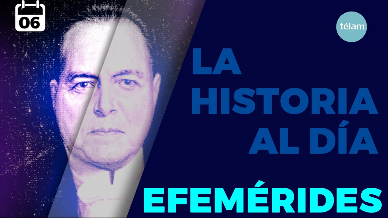 LA HISTORIA AL DÍA (EFEMÉRIDES 06 SEPTIEMBRE)