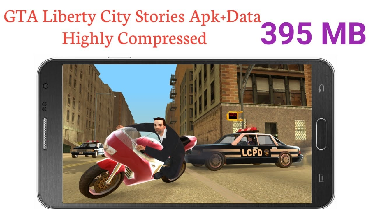 GTA Liberty City Stories Apk+Data Highly Compressed For All