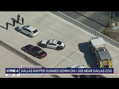Rapper Mo3 shot dead on Dallas highway
