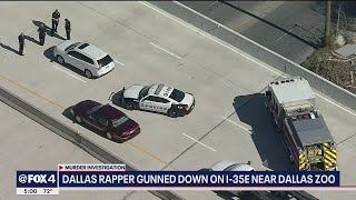 Rapper Mo3 shot dead on Dallas highway