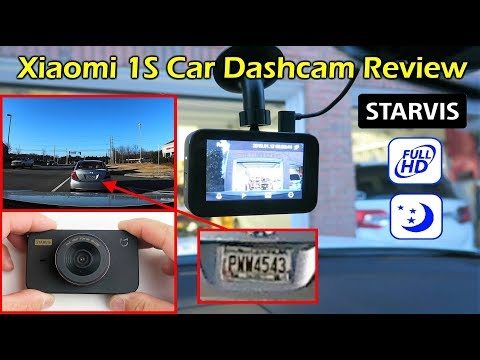 Xiaomi 1S FHD Car Dashcam W/ Starvis Nightvision Review