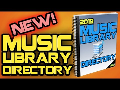2018 Music Library Directory Is Now Available!