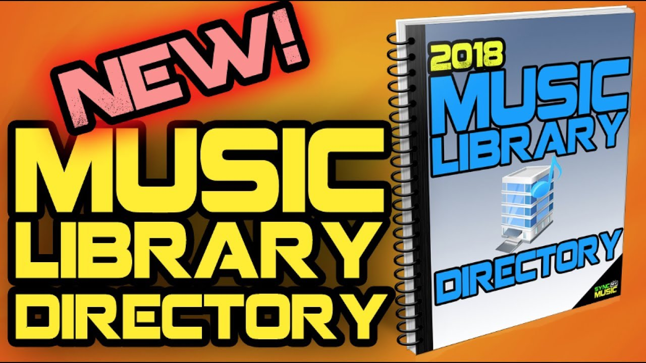 2018 Music Library Directory Is Now Available Youtube
