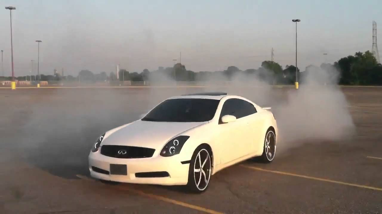 Memphis Pearl White Infiniti G35 Coupe On 22 Inch Forgiato