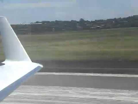 Leaving Entebbe/Kampala with Air Uganda