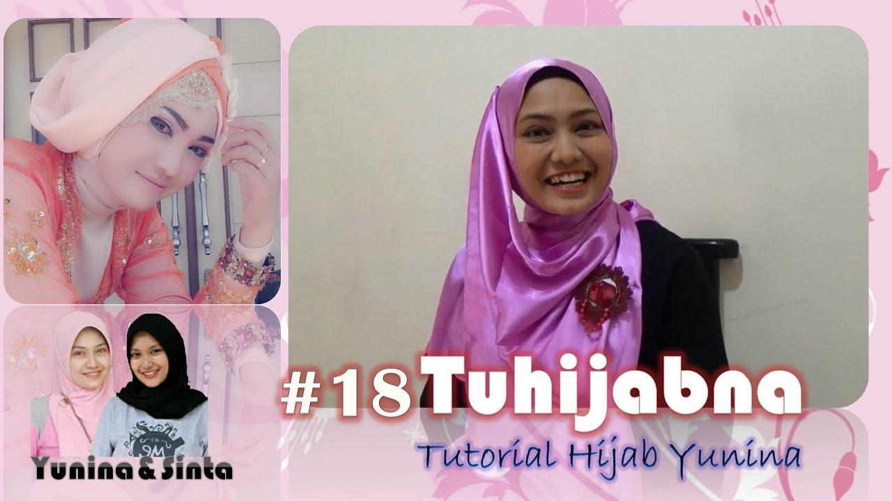 Tutorial Hijab Praktis Yunina Tuhijabna 18 YouTube