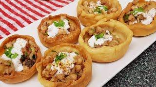 Katori chaat recipechaat katoriকটর চটজব জল আসর মত খবরMouthwatering recipemust try