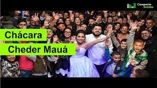 Festa de casamento na chácara cheder mauá-sp | A&D | Compacta Eventos