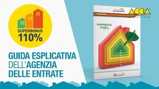 Il webinar di presentazione della guida dell'agenzia delle entrate sul superbonus 110% con commenti ai chiarimenti espressi dall'agenzia e alle...