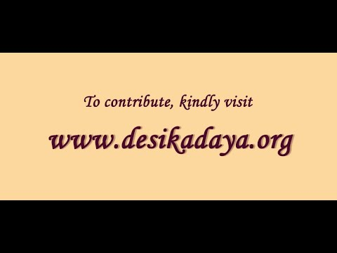Vedanta Desika 750 Sri Lanka Tour  Hamsa Sandesham Part 1 by Dushyanth Sridhar