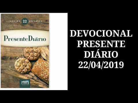 presente-diÁrio-animaÇÃo-22/04/2019