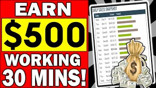 EARN $500 a DAY 💥WORKING 30MINS!💥 How To Use Clickbank To Make Money Online!