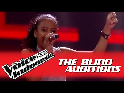 "Gladys ""Royals"" I The Blind Auditions I The Voice Kids Indonesia GlobalTV 2016"
