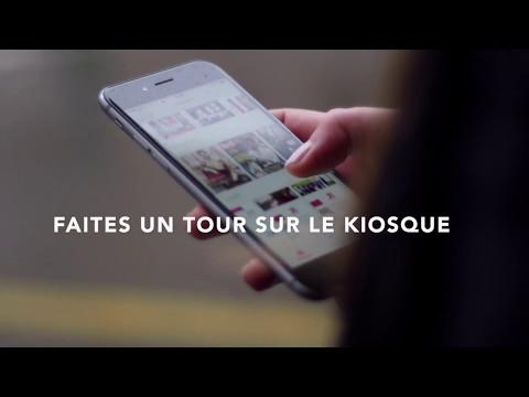 KipUp - short - Le Kiosque de presse mobile 100% gratuit