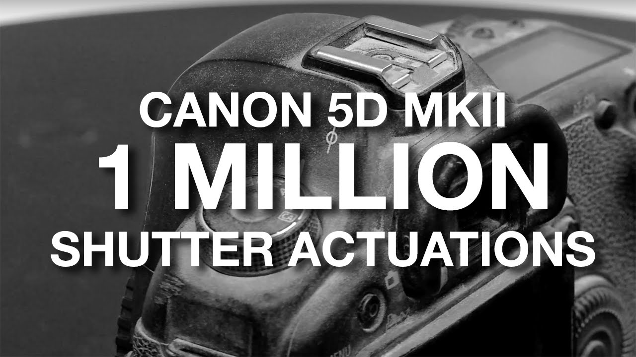 Canon 5D Mark II 1 Million Shutter Count