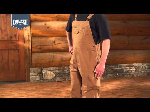 Duluth Trading Ultimate DuluthFlex™ Fire Hose® Overalls