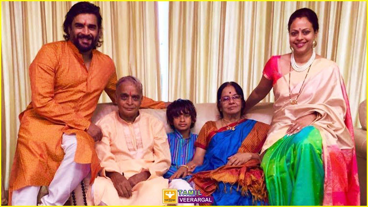 R Madhavan Family Photos   Actor R Madhavan Wife, Son, Father ...