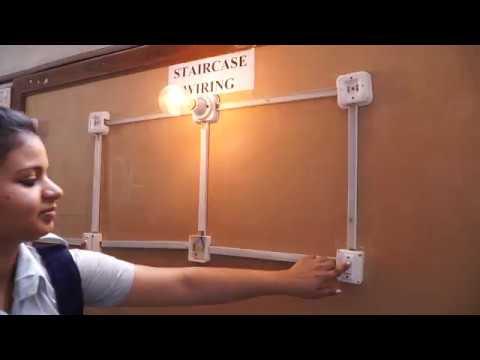 Staircase Wiring 3 | Bhushan ITI
