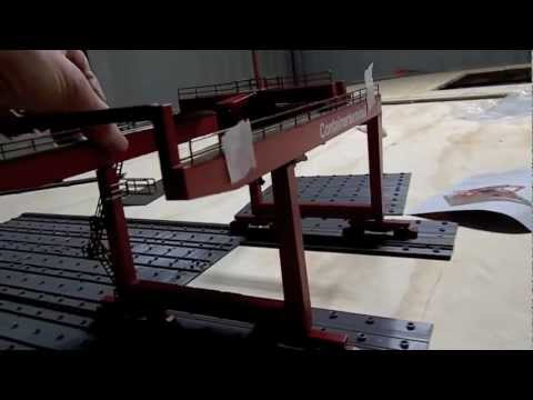 """HELJAN CONTAINER TERMINAL"" Model Trains Part 10 ""A"""