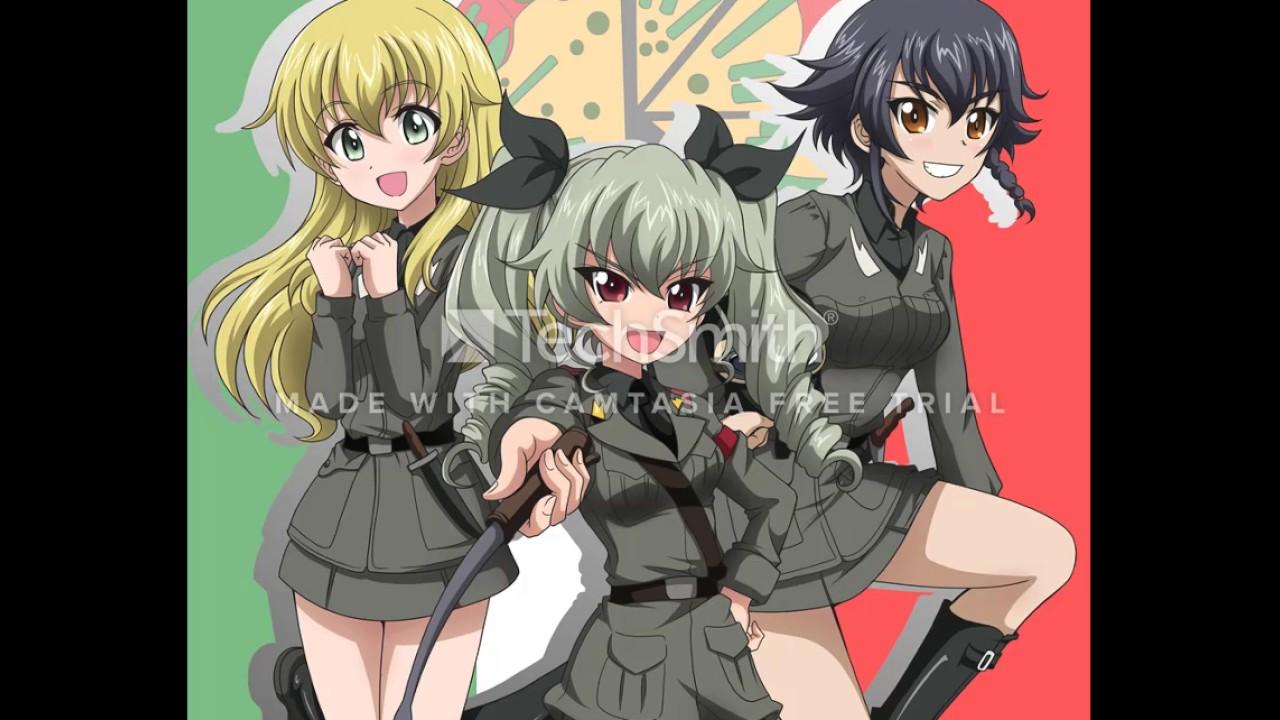Anime Girl Live Wallpaper Girls Und Panzer Amv Anzio Funicul 236 Funicul 224 Youtube