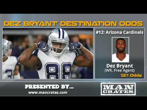Dez Bryant: Betting Odds On What NFL Team...