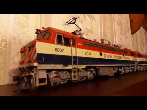 BC rail GF6C elecrtric locomotives resin kits ho scale