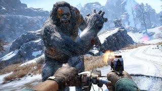 Снежный человек в Far Cry 4! Йети! (1080p)