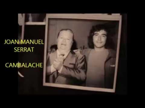 JOAN MANUEL SERRAT  - CAMBALACHE -  TANGO mp3