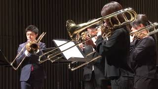 "II. Silent Ballade from ""Plan"" A for Trombone Quartet / プランAより「サイレント・バラード」"