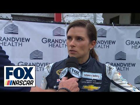 Danica Patrick OK after Hard Hit at Talladega - 2016 NASCAR Sprint Cup