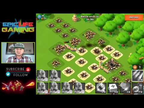 Boom Beach Easy Way On How To Get Intel - Getting Intel For Task Force