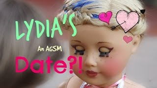 Gambar cover LYDIA'S DATE!! ❥ american girl doll stop motion AGSM | White Fox Stopmotion