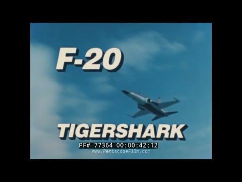 NORTHROP F-20 TIGERSHARK  SALES FILM  F-16 RIVAL  77364