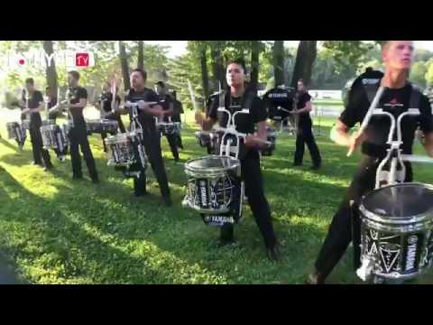 The Colts 2017 Drumline Warm Up DCI East (Multicam)
