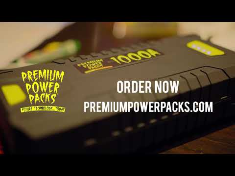 Premium Power Packs - Power When You Need It...at dinner.