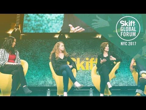 Travel CMO Superpanel at Skift Global Forum 2017