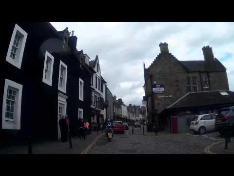 Drive Along High Street South Queensferry Scotland