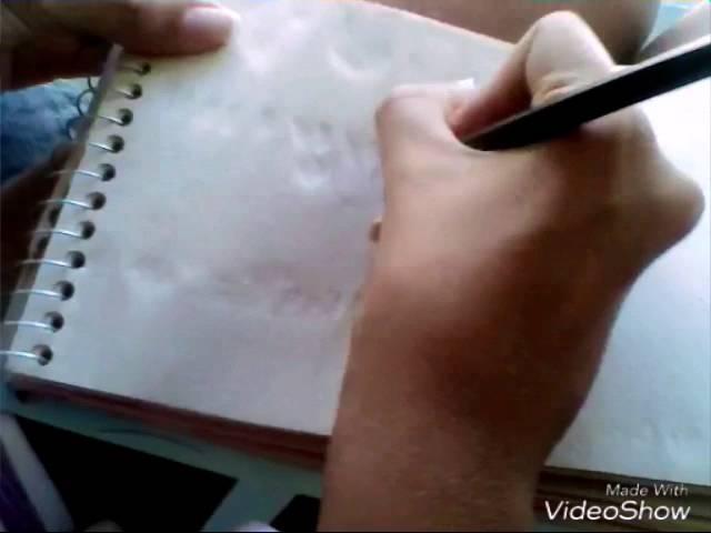 Como desenhar um elefante de frente