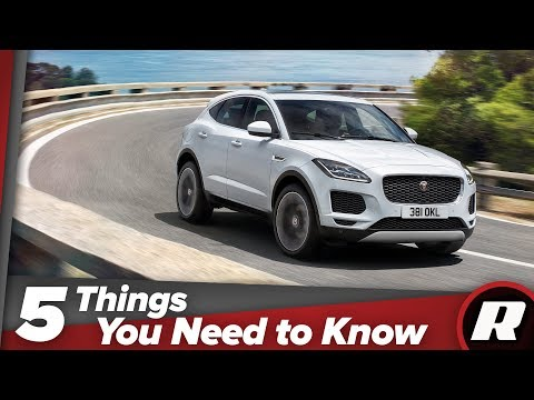 2018 Jaguar E-Pace: Five things you need to know