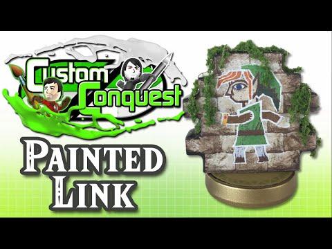 Custom Conquest #14 - Link Between Worlds custom amiibo