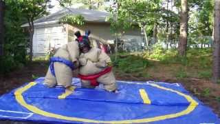 Funny Sumo Suit fight