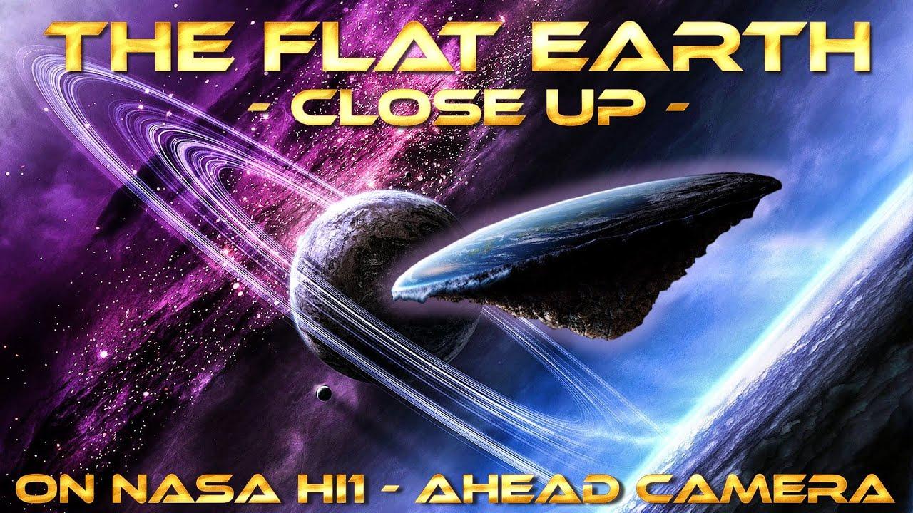 The Flat Earth Close-Up on Secchi HI1 - Ahead Camera